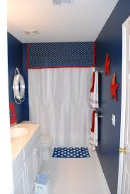 Boys Bathroom with a Nautical Theme