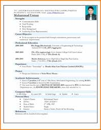 Best Cv Samples For Freshers Cv Samples Download Pakistan Best