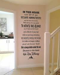 stylish idea disney wall decor decoration ideas i need this in house we do great children s stickers es target plaque princess cars