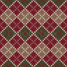 christmas sweater print background. Contemporary Christmas Traditional Christmas Sweater Design Seamless Argyle Knitted Pattern   Stock Vector Colourbox In Print Background