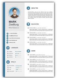 Free Resume Templates Doc Resume Doc Template Visual Resume Within Cv Templates Free Download Word Document Cv Kreatif Desain Cv Kreatif