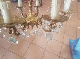 Antik Kronleuchter Lüster Kristall In 69126 Heidelberg Für