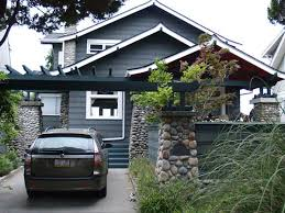 a citybuilders inc home remodel includes an update to exterior colors to contrast with