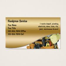 handyman business handyman business cards templates zazzle