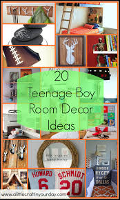 best solutions of 20 teenage boy room decor ideas a little craft in your day with craft ideas for decorating a bedroom