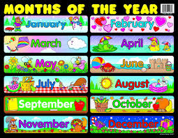 Carson Dellosa Months Of The Year Chart 6277