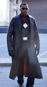 blade leather coat wesley snipes blade leather long trench coat