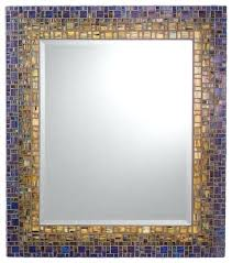 Crazy Mosaic Bathroom Mirrors Black Mosaic Bathroom Mirrors