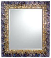 Crazy Mosaic Bathroom Mirrors Black Mosaic Bathroom Mirrors