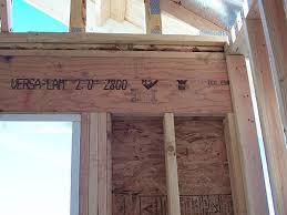 45 header above garage door siding simple design garage
