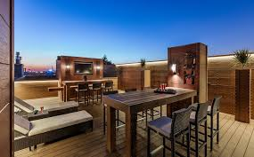 rooftop furniture. Chicago Rooftop Deck Ideas Contemporary With Wood Outdoor Patio Furniture Terrace O