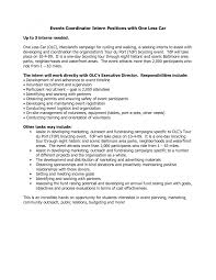 Cover Letter Event Planner Cover Letter Sample Event Planning