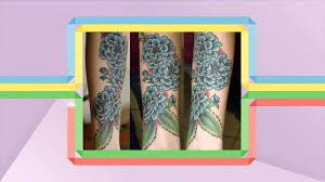 тату цветы эскизы для девушек на руке и ноге