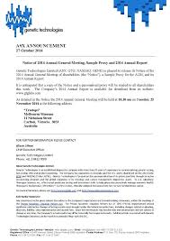 Annual Meeting Announcement Template Majeste Info