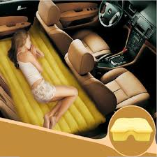 Back Seat Bed Sleeping In The Car Never Looked So Good Car Sleep Inventions
