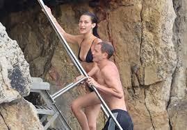 Bella Hadid and Marc Kalman ...