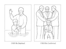 Baptism Coloring Pages Free Pages John Page Jesus Birth Coloring