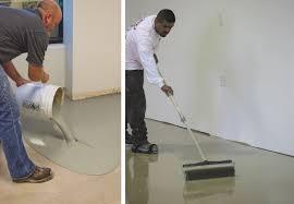 leveling a concrete floor