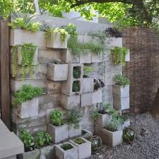 cinder block garden wall. Put Your Favorite Plants On Display With A Gorgeous Cinder Block Wall Garden . E