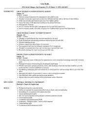 Shift Superintendent Resume Samples | Velvet Jobs