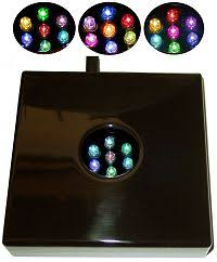 Lighted Display Stand For Glass Art Large Lighted Stands 100100 l Centerpiece LED Crystal Display Base 62