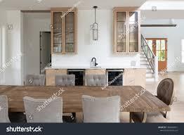 Belgian Interior Design Style Brightly Lit Belgian Farmhouse Style Interior Stock Photo