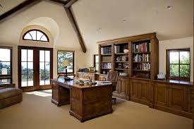 want to add built in bookcase shelve glass door for home office design built in home office furniture