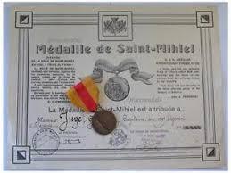 ww saint st mihiel battle medal war military  image is loading ww1 saint st mihiel battle medal war