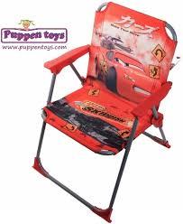 folding chair cars lightning mcqueen juguetes puppen toys