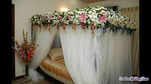 Room Decoration For Wedding Night With Lights Wedding Night Bedroom Decoration