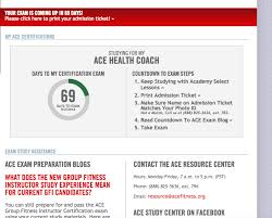 ace fitness health coaching certification review sponsored thefitcookie acefitness getacecertified