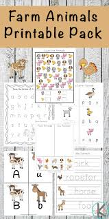 Realistic images of wild animals and mythical carousel favorites are more intricate, suiting older kids and adults. Free Farm Animals Worksheets