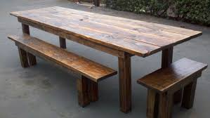 10 table in golden rustic finish