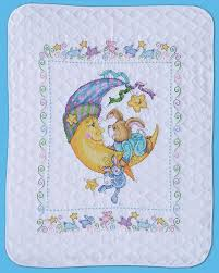 T21761 Bunny Baby Quilt - 021465217611 & T21761 Bunny Baby Quilt. Stamped Cross Stitch ... Adamdwight.com