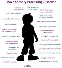 Sensory Processing Disorder Inha Irish Neonatal Health