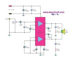 power amp super bridge w by ic tda small bridge amplifier circuit diagram