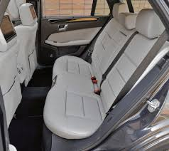 2011 Mercedes E350 4MATIC Wagon Rear Seats - | EuroCar News