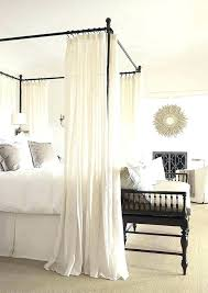 King Canopy Bed Curtains Twin Size Canopy Bed Frame King Canopy Bed ...