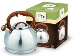 <b>Чайники</b> наплитные: <b>Чайник</b> 3,0 л. <b>TECO</b> со свистком, <b>TC</b>-<b>121</b>