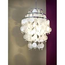 mother of pearl lamp lighting 3 light ceiling pendant in polished chrome intended for table uk