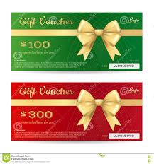 elegant christmas gift voucher or gift card template stock vector elegant christmas gift card or gift voucher template royalty stock photography