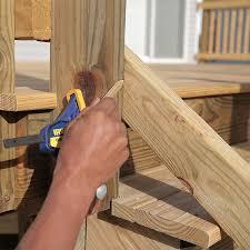 mark the cut angles on the rails