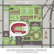 Usc Coliseum Seating Chart Coliseum Maps Los Angeles Coliseum