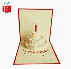 Cozypop 3d Pop Up Card Birthday Cake Happy Birthday Cards 499