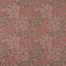 Floral Brocade Metallic Gold And Rosette Pink Floral Brocade