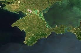 Крым Википедия Спутниковый снимок Крыма