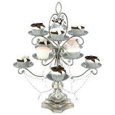 chandeliers chandelier cupcake holder chandelier cupcake holder gold chandelier cupcake stand antique silver piece dessert