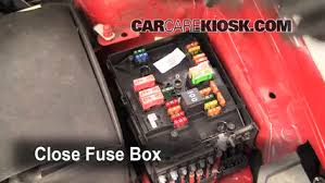 blown fuse check volkswagen jetta volkswagen 6 replace cover secure the cover and test component