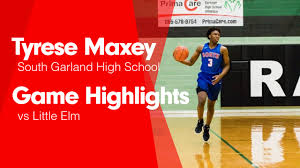 Little Elm - Tyrese Maxey highlights - Hudl