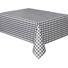 interior plastic black ginghamable cover and white checdablecloth round chevron striped al polka dot ideal polka dot tablecloth